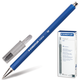 Ручка шариковая STAEDTLER (ШТЕДЛЕР, Германия), трехгранная, нескользящий корпус, 0,45 мм, синяя