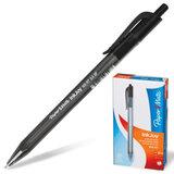 Ручка шариковая PAPER MATE автоматическая «InkJoy 100 RT», корпус черный, толщина письма 0,5 мм, черная