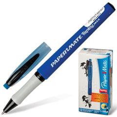 """Ручка «Пиши-стирай"""" шариковая PAPER MATE """"Replay Max», корпус синий, узел 1,3 мм, линия 1 мм, синяя"""