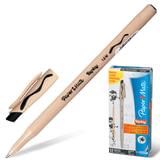 Ручка «Пиши-стирай» шариковая PAPER MATE «Replay», корпус бежевый, толщина письма 1 мм, черная