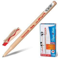 "Ручка «Пиши-стирай"" шариковая PAPER MATE ""Replay», корпус бежевый, узел 1,2 мм, линия 1 мм, красная"