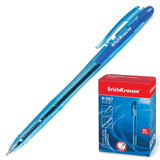 Ручка шариковая ERICH KRAUSE автоматическая «R-507», корпус прозрачный, толщина письма 0,7 мм, синяя