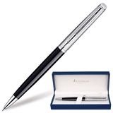 ����� ��������� WATERMAN «Hemisphere Deluxe Black CT», ������ ������, ������ c ����������� ���������, �����