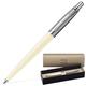 Ручка шариковая PARKER «Jotter Whiteness», корпус цвета слоновой кости, хромированные детали
