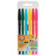 Ручки шариковые BEIFA (Бэйфа), набор 6 шт., «WMZ», корпус ассорти, 1 мм, европодвес, цвет ассорти