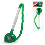 Ручка шариковая настольная BEIFA (Бэйфа) «СТОППЕН», на липучке, корпус прозрачный/<wbr/>зеленый, 0,7 мм, синяя