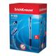 Ручка шариковая ERICH KRAUSE автоматическая «R-509», корпус прозрачный, толщина письма 0,7 мм, резиновый грип, синяя