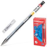 Ручка гелевая ERICH KRAUSE «G-BASE», толщина письма 0,5 мм, черная