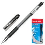 Ручка гелевая ERICH KRAUSE «G-STICK», с резиновым упором, толщина письма 0,5 мм, черная