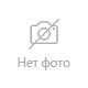Ручка гелевая STAFF эконом, корпус прозрачный, резиновый держатель, красная