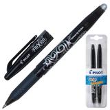 Ручка «Пиши-стирай» гелевая PILOT, набор 2 шт., BL-FR-7 «Frixion», толщина письма 0,35 мм, черная