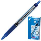 """Ручка-роллер PILOT автоматическая BXRT-V5 """"Hitecpoint"""", корпус сине-серый, толщина письма 0,25 мм, синяя"""