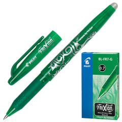 """Ручка «Пиши-стирай"""" гелевая PILOT """"Frixion», корпус зеленый, узел 0,7 мм, линия 0,35 мм, зеленая"""