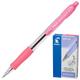 Ручка шариковая PILOT автоматическая, BPGP-10R-F «Super Grip», корпус розовый, с резиновым упором, 0,32 мм, синяя
