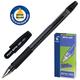 Ручка шариковая масляная PILOT BPS-GP-M, корпус черный, с резиновым упором, 0,4 мм, черная