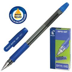 Ручка шариковая масляная PILOT «BPS-GP», корпус прозрачный, узел 1 мм, линия 0,4 мм, синяя