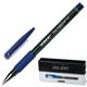 Ручка гелевая LACO (ЛАКО, Германия), резиновый упор, толщина письма 0,5 мм, GP 12, синяя