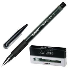 Ручка гелевая LACO (ЛАКО, Германия), корпус тонированный черный, узел 1 мм, линия 0,5 мм, черная