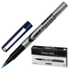 Ручка-роллер LACO (ЛАКО, Германия), корпус серый, узел 0,7 мм, линия письма 0,5 мм, синяя