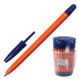 Ручка шариковая СТАММ «111», корпус оранжевый, толщина письма 1 мм, синяя