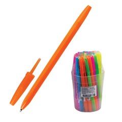 Ручка шариковая СТАММ «Оптима», корпус неоновый ассорти, узел 1,2 мм, линия письма 0,7 мм, синяя