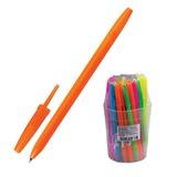 Ручка шариковая СТАММ «Оптима», корпус ассорти неоновый, толщина письма 0,7 мм, синяя