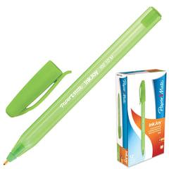 Ручка шариковая PAPER MATE «Inkjoy 100», корпус тонированный зеленый, узел 1,2 мм, линия 1 мм, зеленая