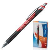 Ручка шариковая PAPER MATE автоматическая «InkJoy 550 RT», корпус красный, 1 мм, красная