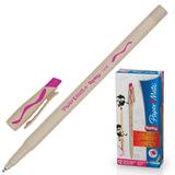 Ручка «Пиши-стирай» шариковая PAPER MATE «Replay», корпус бежевый, 1 мм, розовая
