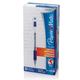 Ручка гелевая PAPER MATE «PM 300», корпус прозрачный, толщина письма 0,7 мм, синяя