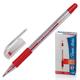 Ручка гелевая PAPER MATE «PM 300», корпус прозрачный, толщина письма 0,7 мм, красная