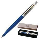 Ручка шариковая PARKER «Jotter Special Blue GT», корпус синий, пластик, хромированные детали, синяя