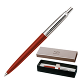 Ручка шариковая PARKER «Jotter Special Red CT», корпус красный, пластик, хромированные детали, синяя