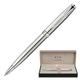 Ручка шариковая PARKER «Sonnet Stainless Steel CT», корпус нержавеющая сталь, хромированные детали, черная