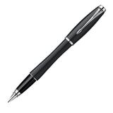 Ручка перьевая PARKER «Urban Muted Black CT», корпус черный, латунь, лак, хромированные детали, черная