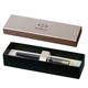 Ручка-роллер PARKER «IM Black Lacquer CT», корпус латунь, лак, позолоченные детали, черная
