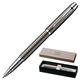 Ручка-роллер PARKER «IM Gun Metal CT», корпус латунь, лак, хромированные детали, черная