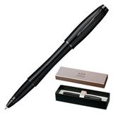 Ручка-роллер PARKER «Urban Premium Matt Black», корпус черный, латунь, хромированные детали, черная