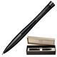 Ручка шариковая PARKER «Urban Premium Matt Black», корпус черный, латунь, хромированные детали, синяя
