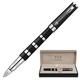 Ручка PARKER «5-й пишущий узел» «Ingenuity Black Rubber & Metal GT», корпус латунь, хромированные детали, черная