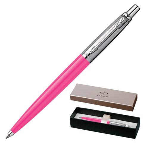 Ручка шариковая PARKER «Jotter Tactical Coral BP», корпус розовый, пластик, нержавеющая сталь, синяя