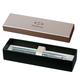 Ручка перьевая PARKER «IM Premium Vacumatic Emerald Pearl CT», корпус аллюминий, хромированные детали, синяя