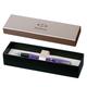 Ручка перьевая PARKER «Urban Premium Vacumatic Amethyst Pearl», корпус аллюминий, хромированные детали, синяя
