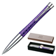 Ручка шариковая PARKER «Urban Premium Vacumatic Amethyst Pearl», корпус аллюминиевый, хромированные детали, синяя