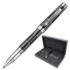 Ручка-роллер PARKER «Premier Luxury Black CT», корпус черный, латунь, никеле-палладиевое покрытие деталей, черная, 1876392