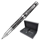 Ручка-роллер PARKER «Premier Luxury Black CT», корпус латунь, палладиевые детали, черная