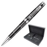 Ручка шариковая PARKER «Premier Luxury Black CT», корпус латунь, палладиевые детали, черная