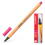 Ручка капиллярная STABILO «Point», толщина письма 0,4 мм, цвет неоновый розовый