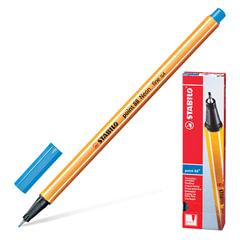 Ручка капиллярная STABILO «Point», корпус оранжевый, толщина письма 0,4 мм, ультрамарин