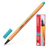 Ручка капиллярная STABILO «Point», толщина письма 0,4 мм, голубовато-бирюзовая